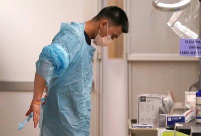 Washington hospitals near capacity with Idaho COVID transfers