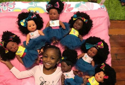 """The """"doll test"""" shows why society desperately needs Target's newest collaboration with multicultural doll company Orijin Bees"""